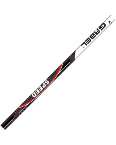 Speed Red Gabel aluminium ski poles
