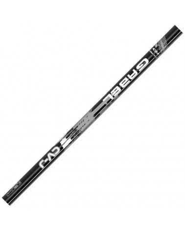 CVJ Black/Silver Ski Poles  Junior line