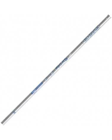 X-3 Silver Blue Nordic Walking poles Gabel carbon